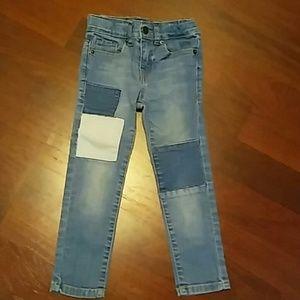 Lucky Brand Girl's Patchwork Denim Skinny Jeans